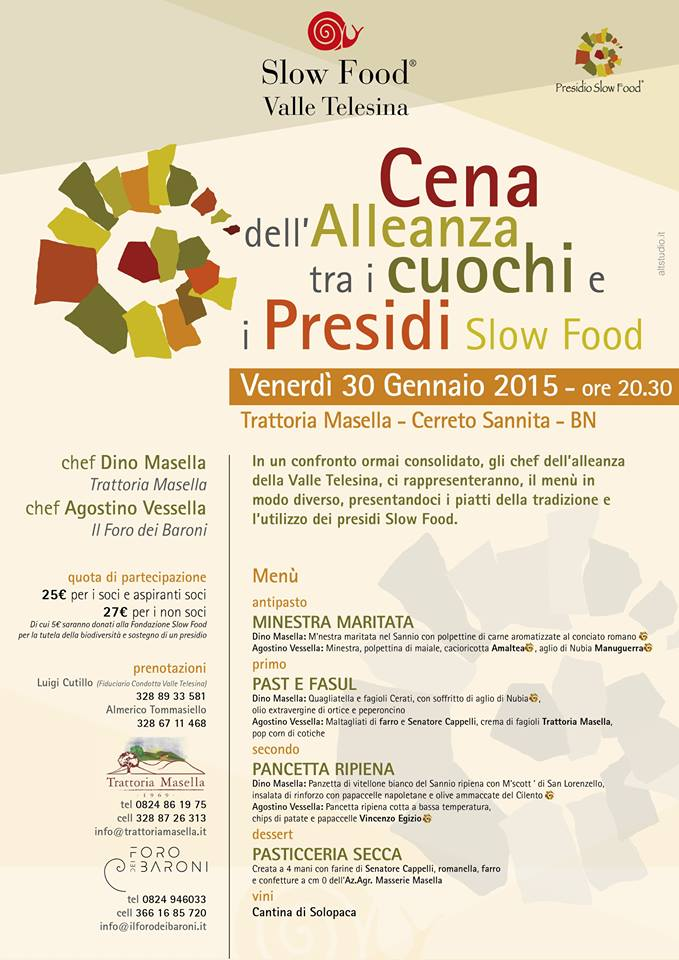 alleanza cuochi slow food