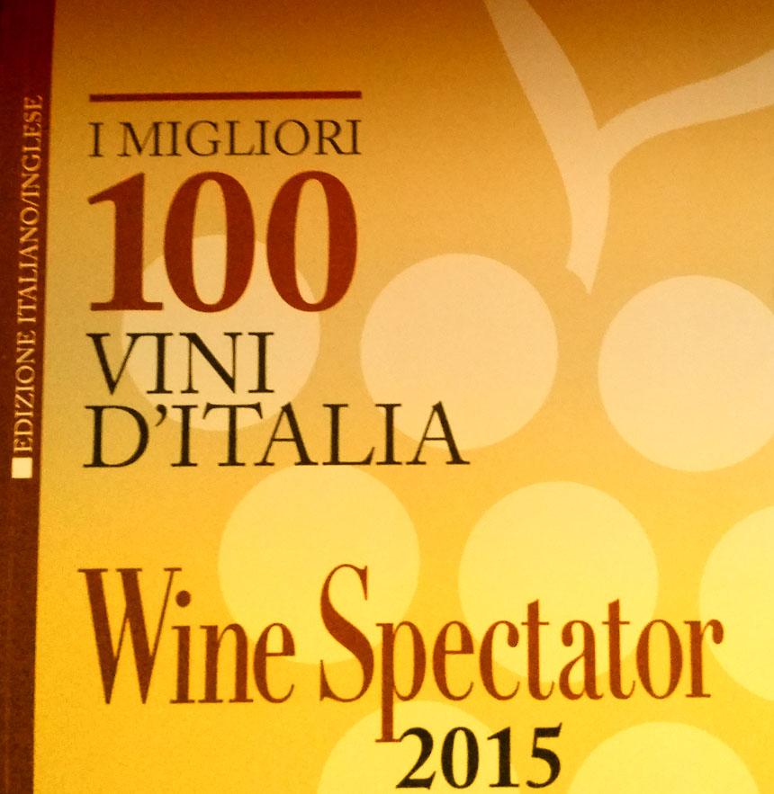 wine spectator, migliori vini talia 2015